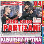 Basın Avrupa Ligi'ndeki zafer gecesini böyle gördü.