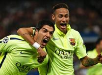 Şampiyonlar Ligi'nde Paris Saint Germain, Barcelona'yı konuk etti.