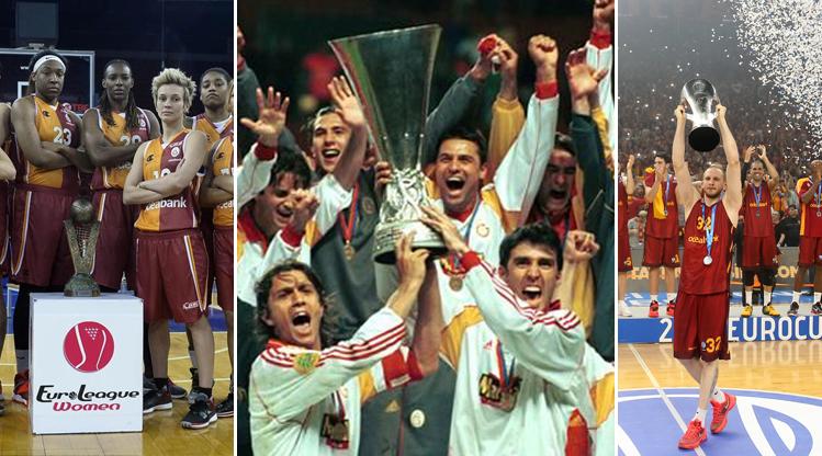 İşte Galatasaray'ın Avrupa'da kazandığı başarılar...