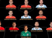 İşte Copa America'nın altın 11'i