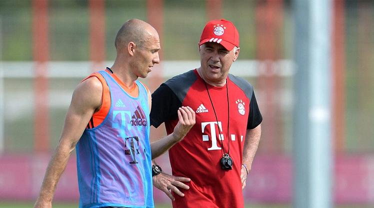 Robben'den Ancelotti eleştirisi!