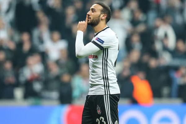Beşiktaş, Şampiyonlar Ligi'ndeki beşinci maçını da yenilgisiz tamamlayarak yoluna namağlup devam etti.