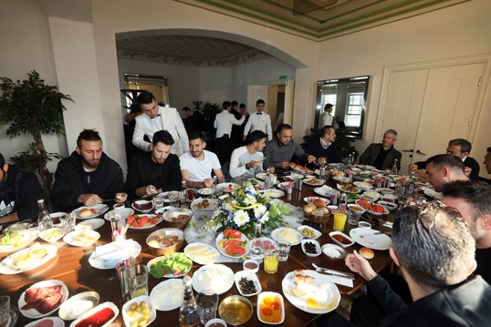 Fenerbahçe kahvaltıda buluştu