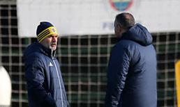 Fenerbahçe, Aykut Kocaman yönetiminde çalıştı