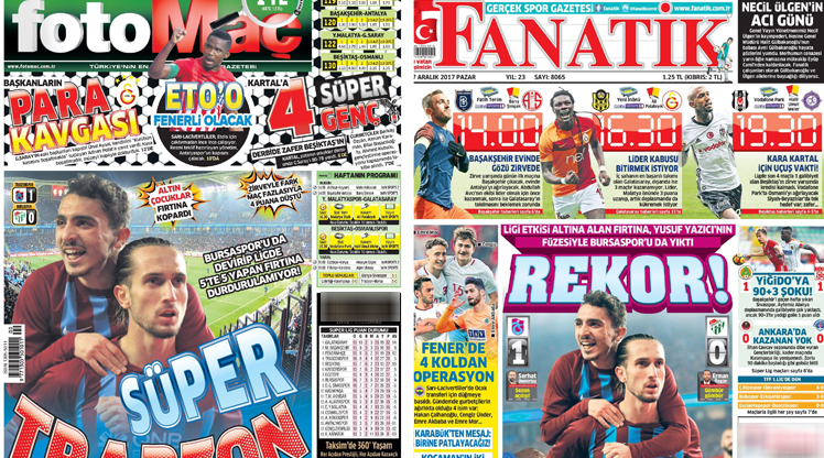 17 Aralık gazete manşetleri
