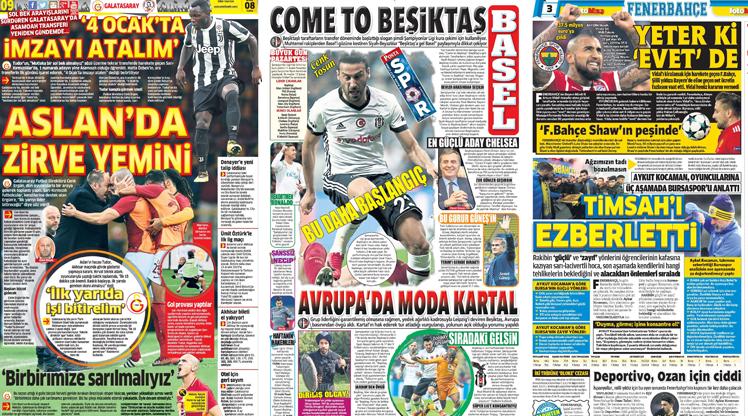 8 Aralık gazete manşetleri