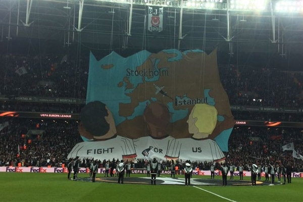 İşte Beşiktaş - Olympiakos maçından en güzel kareler...