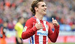 Atletico Madrid'in Fransız yıldızı Antoine Griezmann'dan Manchester United ve Chelsea'ye kötü haber.
