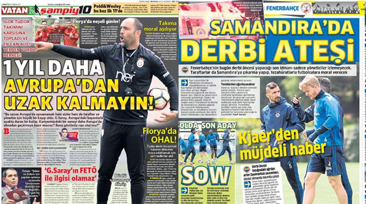 22 Nisan gazete manşetleri