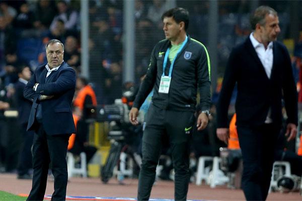 Medipol Başakşehir ile Fenerbahçe arasındaki Ziraat Türkiye Kupası yarı final ilk maçında, iki ekibin teknik direktörleri arasında kısa süreli bir tartışma yaşandı.