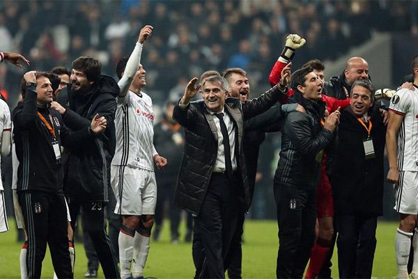 Spor Toto Süper Lig'de Gençlerbirliği'ni 3-0 mağlup eden Beşiktaş'ta teknik direktör Şenol Güneş, kulüpte tarihe geçmeye çok yaklaştı.