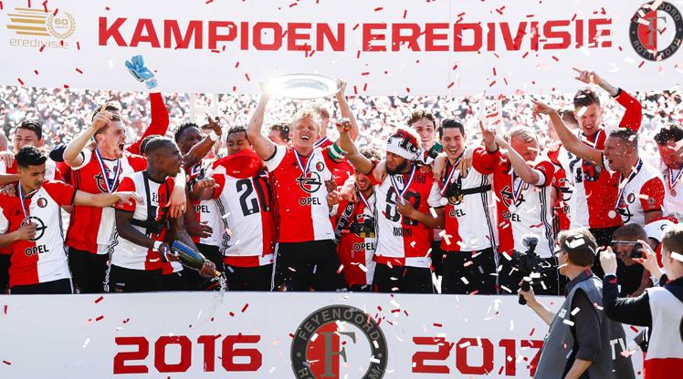 Kuyt Feyenoord'u şampiyon yaptı!