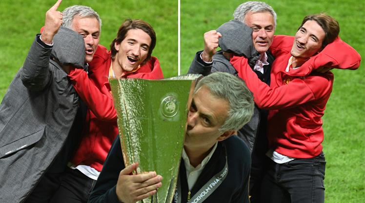 Mourinho çılgınlar gibi sevindi