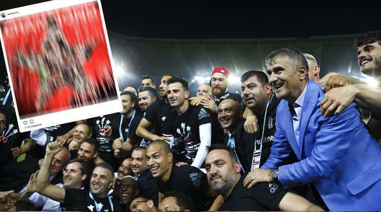 Sosyal medyada Beşiktaş coşkusu!