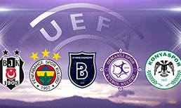İşte UEFA'da en fazla puan toplayan takımlar! Bizimkiler kaçıncı sırada?