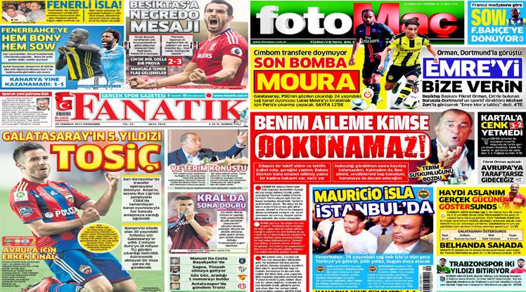 20 Temmuz gazete manşetleri