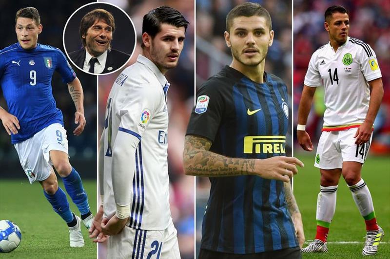 İşte Conte'nin golcü adayları!