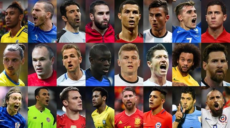 FIFA yılın futbolcusu adaylarını açıkladı!