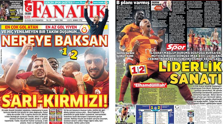 25 Eylül gazete manşetleri