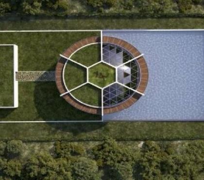 Messi'nin yeni evi göz kamaştırıyor