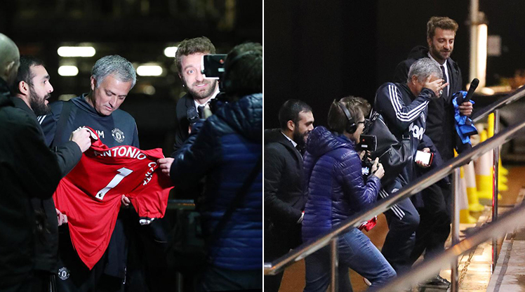 Mourinho'ya 'Conte' şakası