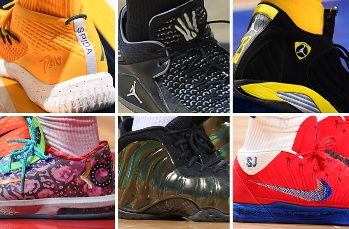 NBA yıldızlarının sıradışı ayakkabıları