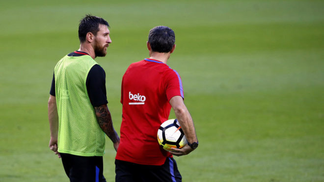 Messi'den Valverde'ye tepki