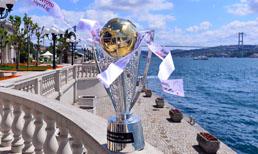 Şampiyonluk kupası İstanbul Boğazı'nda