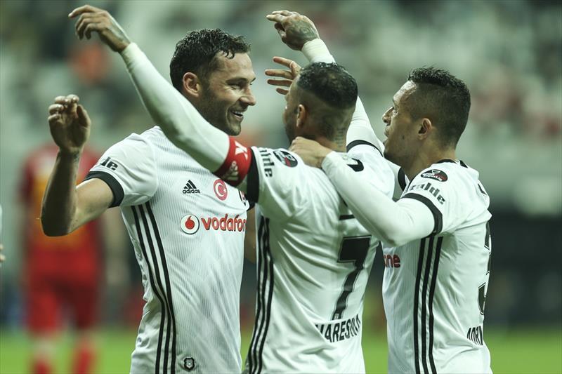 Beşiktaş - Kayserispor foto galerisi