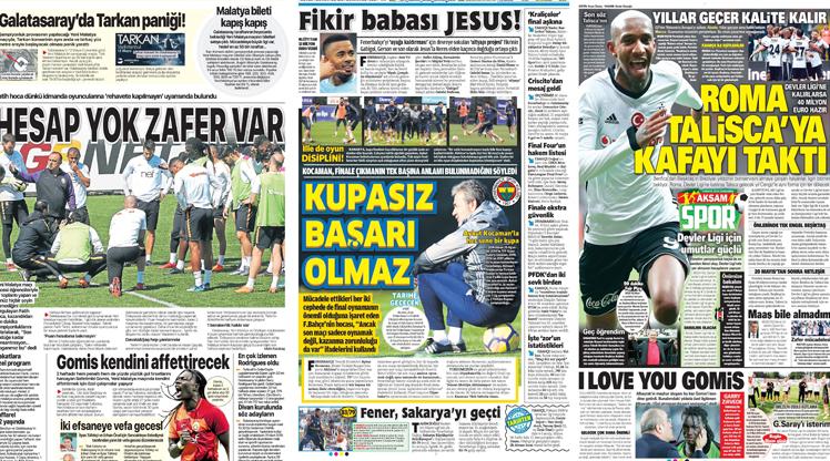 9 Mayıs gazete manşetleri