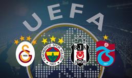 UEFA yeni sıralamayı açıkladı (2018)