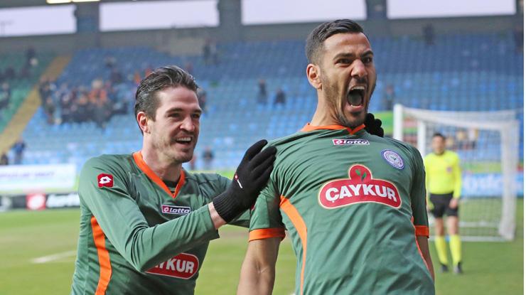 Çaykur Rizespor Eskişehirspor golleri