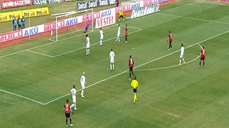 Eskişehirspor Mersin İdman Yurdu golleri