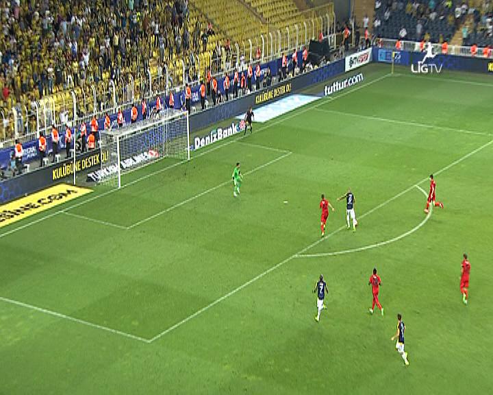 Fenerbahçe Eskişehirspor golleri