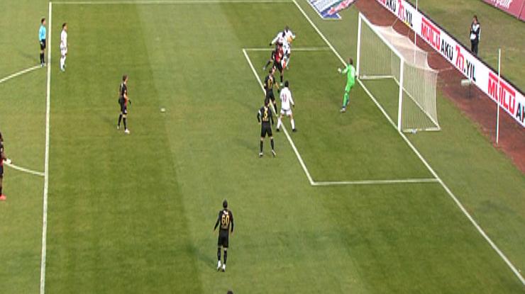 Eskişehirspor Gaziantepspor golleri