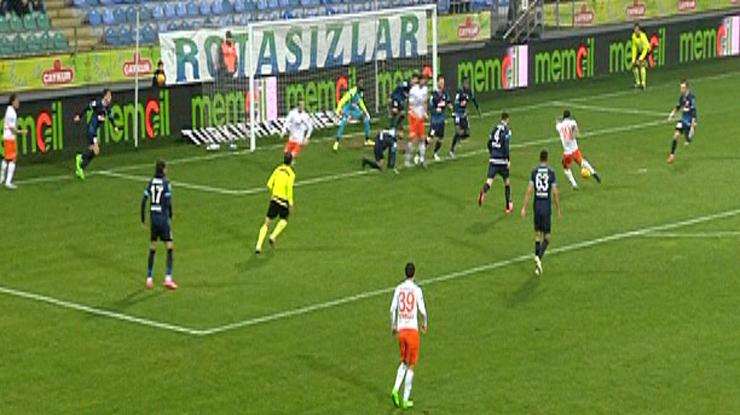 Çaykur Rizespor Medipol Başakşehir golleri