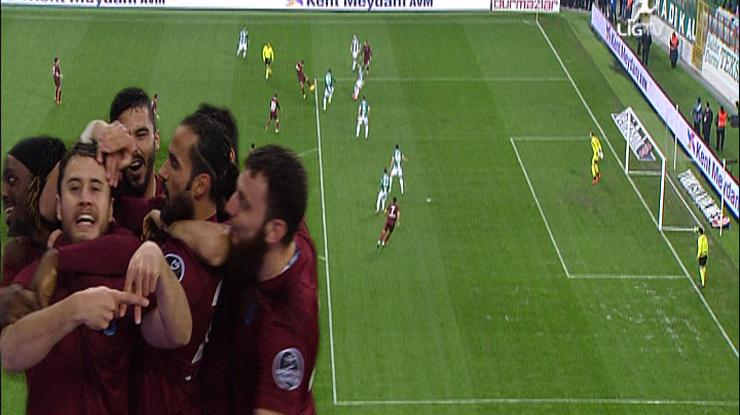 Bursaspor Trabzonspor golleri