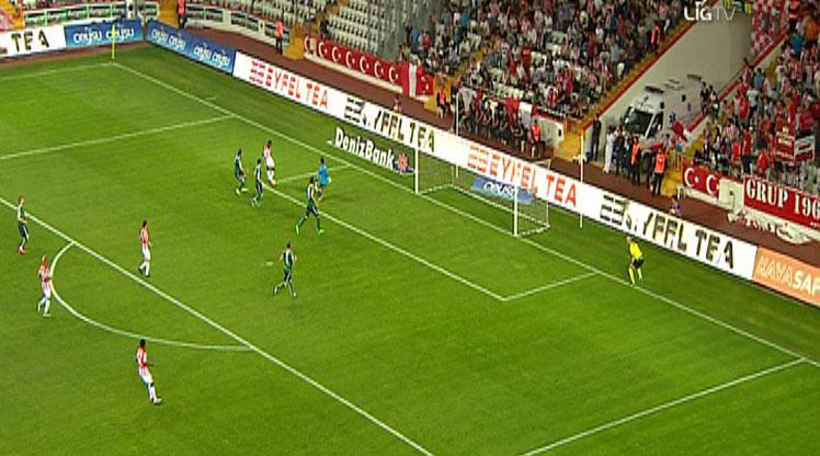 Antalyaspor Atiker Konyaspor golleri