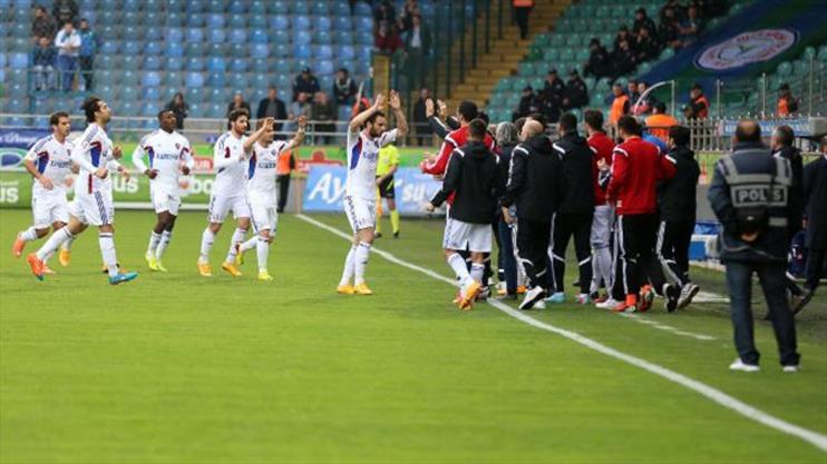 Çaykur Rizespor KDÇ Karabükspor maç özeti