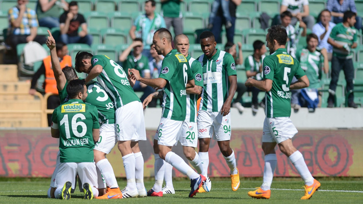 Bursaspor KDÇ Karabükspor maç özeti