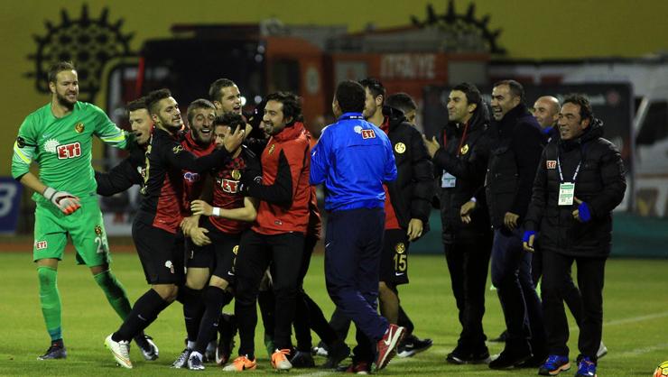 Eskişehirspor Mersin İdman Yurdu maç özeti