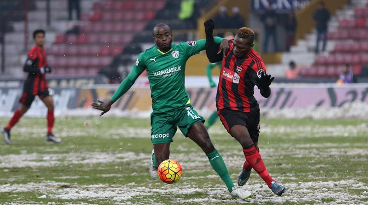 Gaziantepspor Bursaspor maç özeti