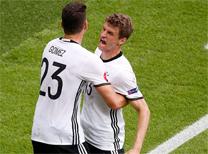 Kuzey İrlanda Almanya maç özeti