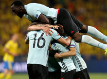 İsveç Belçika maç özeti