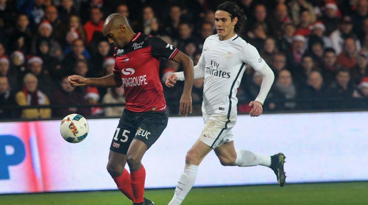 Guingamp Paris St Germain maç özeti