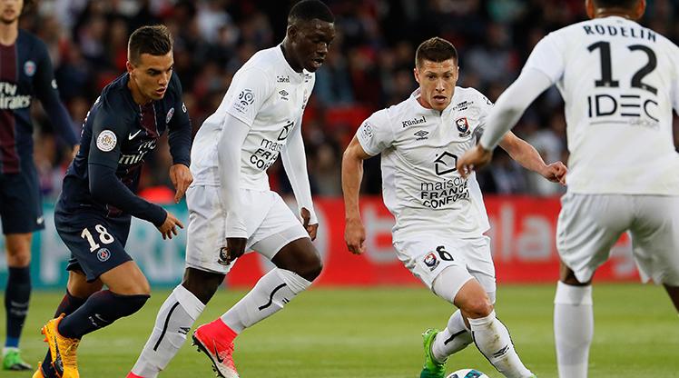Paris St Germain Caen maç özeti
