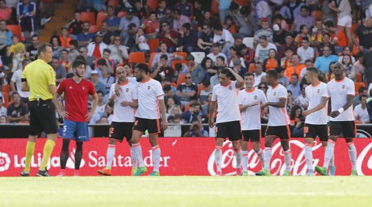 Valencia Osasuna maç özeti