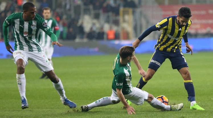 Bursaspor Fenerbahçe maç özeti
