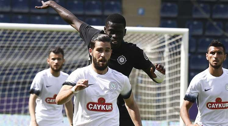 Osmanlıspor FK Çaykur Rizespor maç özeti