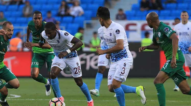 Trabzonspor Bursaspor maç özeti